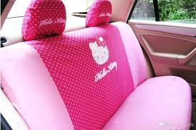 pink seat covers for cars seat covers universal hello kitty car seat covers red