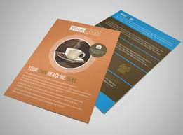 Hot Coffee Shop Brochure Template | Mycreativeshop