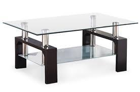 8 virrea rectangular glass coffee tables