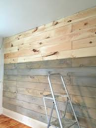 shiplap wall ideas staining a plank wall with milk paint shiplap interior ideas