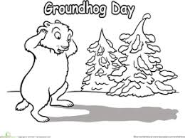 Small Picture Groundhog Day Worksheet Educationcom