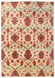 j27407 oushak ikat oriental rug jpg