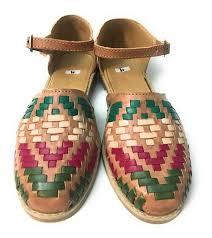 womens original mexican huarache sandals closed toe leather leather leather sandals 3d8546
