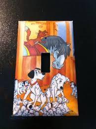 101 dalmatians light switchplate by hippiemysticstudio on etsy 5 00