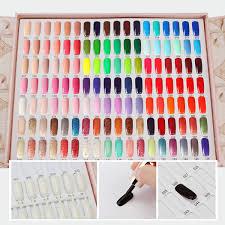 Nail Color Chart Segbeauty 126 Colors Professional Nail Polish Colors Chart