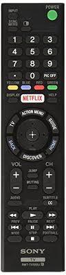 sony smart tv. original sony led smart tv remote control rmt-tx100u netflix tv