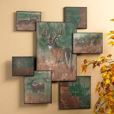 nature s plan whitetail deer wall collage wall art on wall art picture collage with nature s plan whitetail deer wall collage wall art wildlife wall