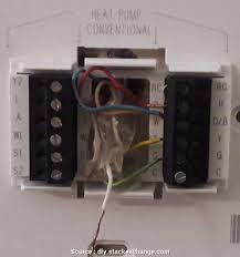 trane xt500c thermostat wiring diagram converting from a trane xt500c ac thermostat to honeywell tb8220u1003 visionpro