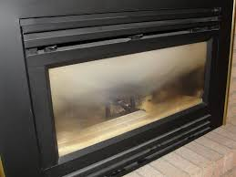 the good news is that you might be able to clean this off to clean the white haze off of your gas fireplace glass you can start by purchasing a
