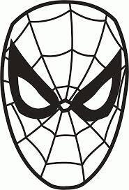 We4you2 Kleurplaten Van Gezichtenzelfkleuren Spiderman