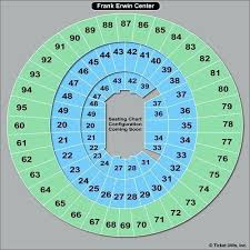 Frank Erwin Center Adele Seating Chart Frank Erwin Seating Myfitaide Com