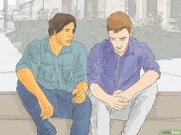 Jemanden Aufmuntern Der Durch Eine Prüfung Oder Einen Test Gefallen