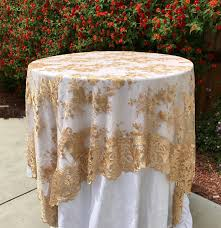 custom tablecloths beautiful gold embroidered lace table runner gold tablecloth table overlay