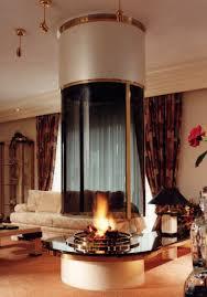 round fireplace CM028