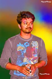 vijay digital painting hd