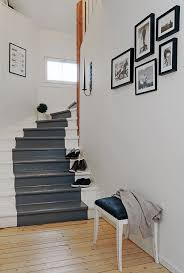 Image Hallway Wood Painted Staircase Ideas Don Pedro 19 Painted Staircase Ideas For Your Home Decor Inspiration