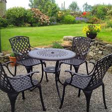 anna small patio table set 4 chairs