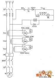 the circuit of phase failure protector for electric motor 1 the circuit of phase failure protector for electric motor 1