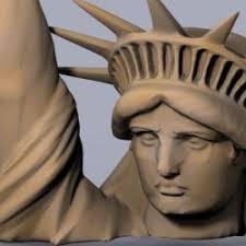 ▷ statue of liberty high resolution 3d models 【 STLFinder 】