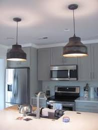 industrial pendant lighting for kitchen. Milk Can Strainer Pendant Lights Available At Www.distressed-design.com. Industrial Lighting For Kitchen I
