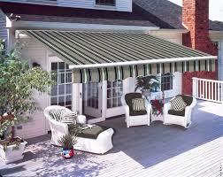 3 x 2 5m patio manual awning garden sun shade retractable canopy multi stripe
