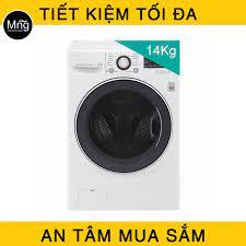 Máy giặt sấy LG 14 kg Inverter F2514DTGW - màu trắng chính hãng giá rẻ  nhất, đang được bán tại siêu thị Mạnh Nguyễn. Máy giặt LG F2514DTGW bả…
