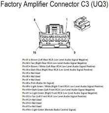 hhr stereo wiring diagram hhr wiring diagrams stereo wiring diagram chevrolet%202008%20hhr%20amplifer%20connector%20wiring%20c3