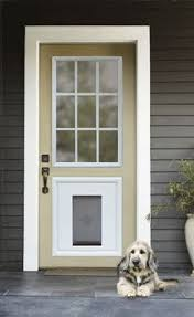 exterior door with window and dog door. large image for kids coloring front door with dog 143 exterior doors built in window and