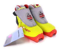 Fischer Xc Xj Sprint Junior Cross Country Ski Boots Size Eu 33 Us 2 5