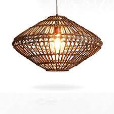 Bamboo Lights Rattan Chandelier,<b>Southeast Asia Pendant</b> Lamp ...