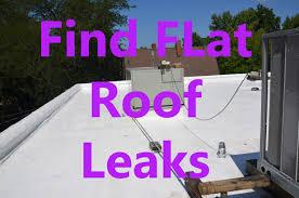 flat roof leak repair. flat roof leak repair