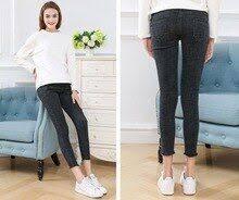 Autumn&summer Maternity <b>pants</b> Elastic Waist Maternity <b>Jeans</b> ...