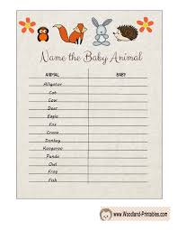 Free Baby Shower Printables  Laurau0027s Crafty LifeBaby Name Games For Baby Shower