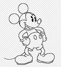 Mickey Mouse Minnie Mouse Drawing Character, mickey mouse, white, mammal,  heroes png