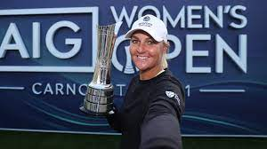 Nordqvist fought her way back to the winner's circle at carnoustie golf links to capture the aig women's. Bjevzwvnhsv8km