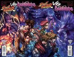 udon entertainment reveals street fighter vs darkstalkers 1