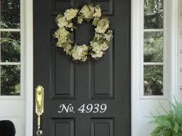 vinyl numbers on front door 002 1