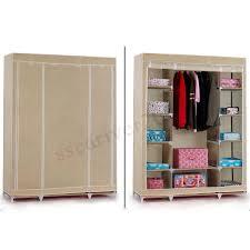 53 039 039 portable closet wardrobe clothes rack