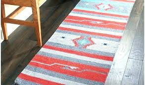 rugs runners runner 2 by kitchen rugs grey red rug 3 6 x