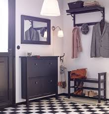 Ikea Hemnes Coat Rack Amazing HEMNES Hat Rack Blackbrown Hallway Organization Storage