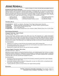 Architectural Technologist Resume Sample Awesome It Support Resume 8