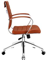 bedroomterrific eames inspired tan brown leather short back soft pad style desk chair executive bedroomterrific eames inspired tan brown leather short