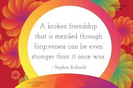 Quotes About Mending Friendships Best Broken Friendship Quotes And Sayings Images Pictures CoolNSmart