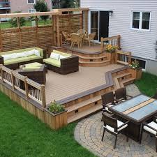 Backyard Deck Design Unique Design Inspiration