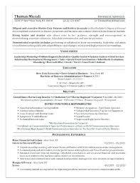 Military To Civilian Resume Example Veteran Samples Objective ...