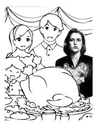 x files thanksgiving i made some more thanksgiving coloring pages they re generally mashed up from other people s work on the internet