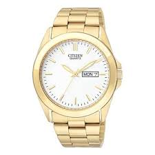 citizen® mens gold tone watch day date display jcpenney citizen® mens gold tone watch day date display jcpenney