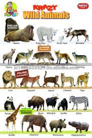 wild animals chart.  Animals Krazy Wild Animals Chart In U