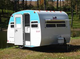 Small Picture Guide to Retro Style Campers and Travel Trailers