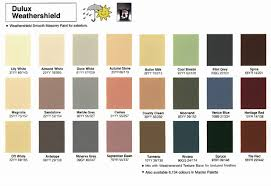 Dulux Fence Paint Colour Chart 43 Genuine Delux Paint Chart